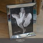Marilyn Monroe Wandbild mit weißem Kleid 50s Rocknroll