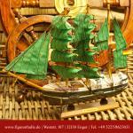 Alexander von Humboldt Segelschiffmodell Modell Holz Schiff