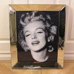 Marilyn Monroe Wandbild im Spiegelrahmen Fotografie