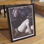 Marilyn Monroe Bild mit schwarzem Rahmen Kunstdruck