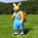 Osterhase Ostern Deko-Figur Gartenfigur Statue