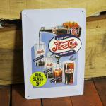 Nostalgie Blechschild Pepsi Cola Retro Oldschool Reklame