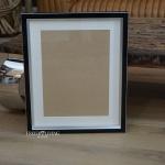 Holz schwarz Bilderrahmen als Wechselrahmen für Ihre Fotos 60 x 80