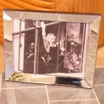 Marilyn Monroe Wandbild Spiegelrahmen Fotografie