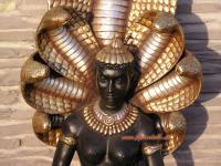 Ägyptische Gottheit Cobra Figur Statue Skulptur Erotik Erotische