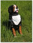 Berner Sennenhund Dekofigur Aufstellfigur Tierfigur