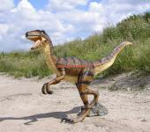 Velociraptor Rex Dino Park Figur Werbefigur Statue Skulptur Deko