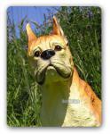 Boxer Figur Tierfigur Dekofigur Aufstellfigur Deko