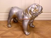 Englische Bulldogge als Figur