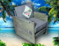 Salitos Lounge Sessel Möbel Bar Club Stuhl