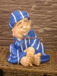 Schlafwandler Junge Dachläufer Figur Statue Skulptur Dekoration