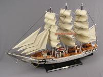 Segelschiff Dänemark Segelboot Modell Standmodel Segelschiffmodell