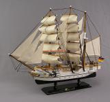 Gorch Fock Segelschiffmodell Modell Holz Schiff