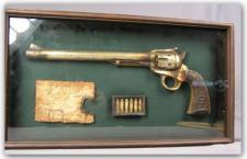 Deko Revolver Country Western Dekoration Pistole