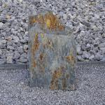 Schiefer Quellstein Naturstein Springbrunnen Schiefersäule Säule