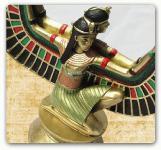 Ägyptische Figur Statue Skulptur Maat Ägypten