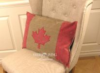 Kissen mit Kanada Flagge als Sofakissen Dekokissen