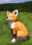Fuchs als Dekofigur für Ihren Garten