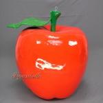 Apfel rot Werbefigur Figur Statue