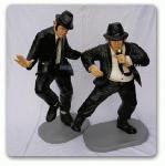 The Blues Brothers Dekofiguren Figur Figuren groß