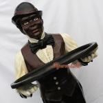 Butler Opa Jeams Dekofigur Diner Figur Aufsteller