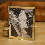 marilyn monroe wandbild kunstdruck jfk airport schwarz. Black Bedroom Furniture Sets. Home Design Ideas