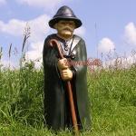 Schäfer Berg Alm Dekofigur Gartenfigur Figur Deko