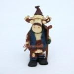 Elch Dekofigur Weihnachts Dekoration Deko Figur