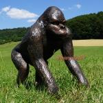 Gorilla Dekofigur Aufstellfigur Affe Afrika Deko