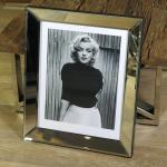 Marilyn Monroe Wandbild 1953 in Hollywood Kunstdruck Rahmen Deko