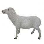 Schaf stehend Schäfchen Dekofigur o. Gartenfigur