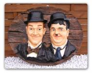 Dick & Doof Stan Laurel und Oliver Hardy Figur