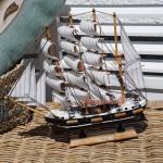 Passat Segelschiffmodell Modell Holz Schiff
