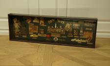 New York Vitrine Schaukasten Nostalgie Antik Dekoration Deko