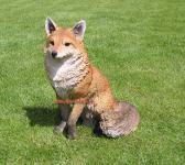 Fuchs Figur Fucks Dekofigur Gartenfigur Fox