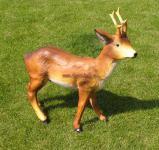 Reh Kids Dekofigur Gartenfigur Rot Wild Figur Deko