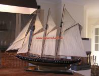 Atlantic Modellschiff Modellsegler Segelschiff Segelboot Modell Grroßes Deko Maritim