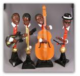 Jazz Bluse Band Figuren Dekofiguren Musiker