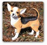 Chihuahua Hund als Dekofigur Figur Gartenfigur