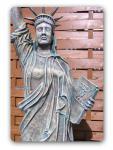 Freiheitsstatue Liberty Figur Aufstellfigur Lampe