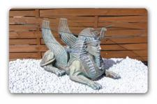 Ägyptische Sphinx Couschtisch Figur Statue Möbel