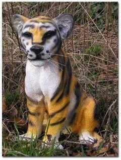 Tiger Tiga Figur Baby Dekofigur Statue Tierfigur