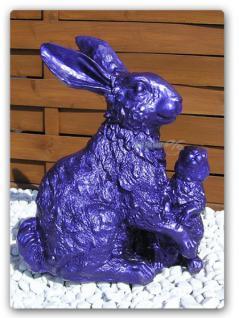 Osterhase Hase Ostern Dekoration Figur Deko