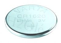 Varta V1620 Batterie Knopfzellen IEC-Code CR1620, 3 V/70 mAH, Lithium