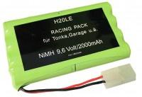 9, 6V 2000mAh Akku AA für RC-Tonka Garage Carson Modelle Toy Fahrzeuge - Vorschau 1