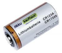 CR123 A Lithium Batterie Photo Power CR123A