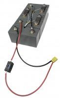 3 Volt / 50Ah LiFePo4 Solarspeicher-Akkumodul zum Selbstbau, mit 2 Modulverbi...