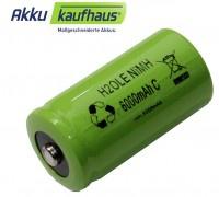 NiMH Babyakku C 1, 2Volt 5500mAh, ersetzt handelsübliche Einwegbatterien