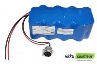 Kühlboxakku 12V (13.2V) LiFePo4 250Wh inkl. Ladegerät inkl. Zig.anschluß, f. ...