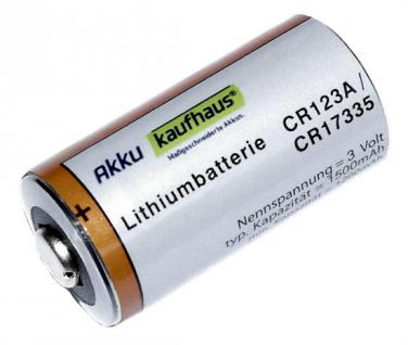 CR123 A Lithium Batterie Photo Power CR123A
